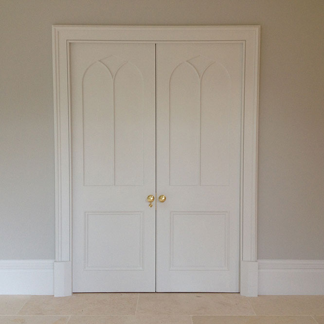double cupboard doors