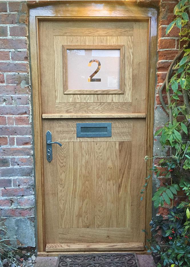 stable door exterior view